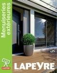 Catalogue Lapeyre - Menuiseries Extérieurs