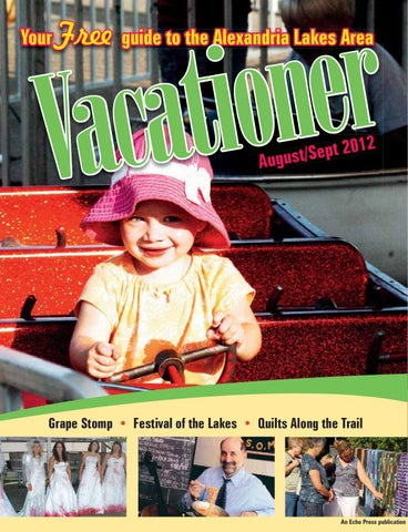 Lakes Area Vacationer Cover