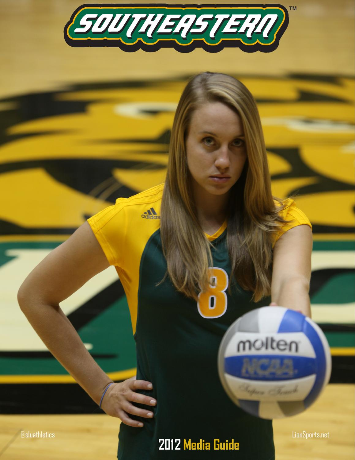 Issuu 2012 Southeastern Louisiana Volleyball Media Guide