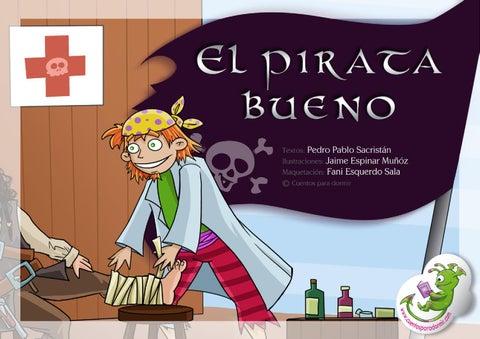 El pirata bueno. Cuento infantil ilustrado