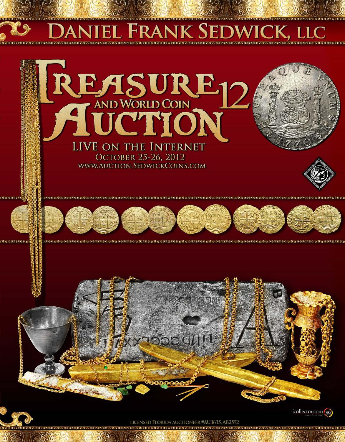 Issuu Treasure And World Coin Auction 12 By Daniel