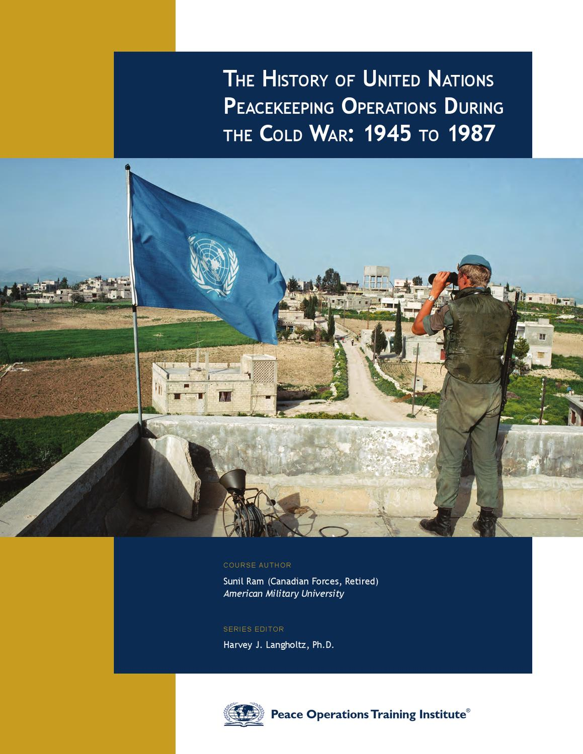 peacekeeping essay William shawcross shows how un peacekeeping has failed but does not draw the obvious conclusion: the world's hot spots need us intervention, and plenty of it.