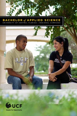 2012 Bachelor of Applied Science Brochure