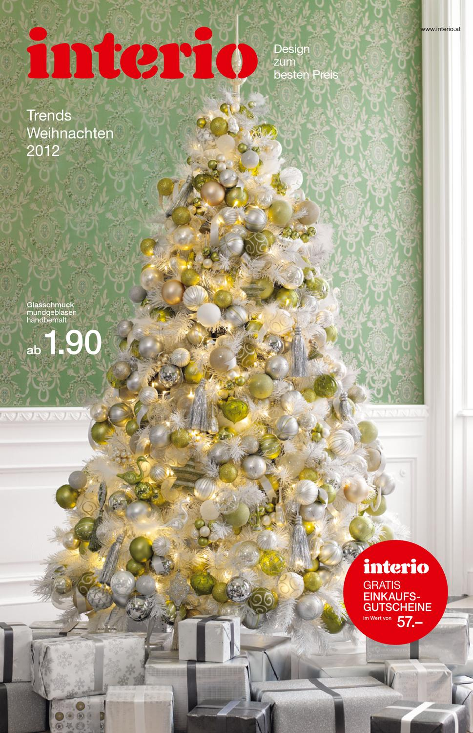 issuu interio weihnachtsfolder 2012 by interio oesterreich. Black Bedroom Furniture Sets. Home Design Ideas