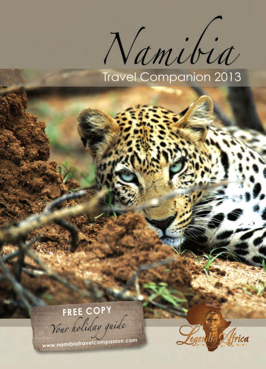 ISSUU - Namibia Travel Companion 2013 by Legends of Africa