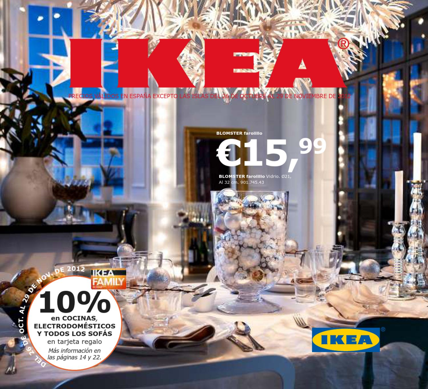 Issuu catalogo ikea decoracion de navidad 2012 2013 by - Catalogo ikea 2013 espana ...