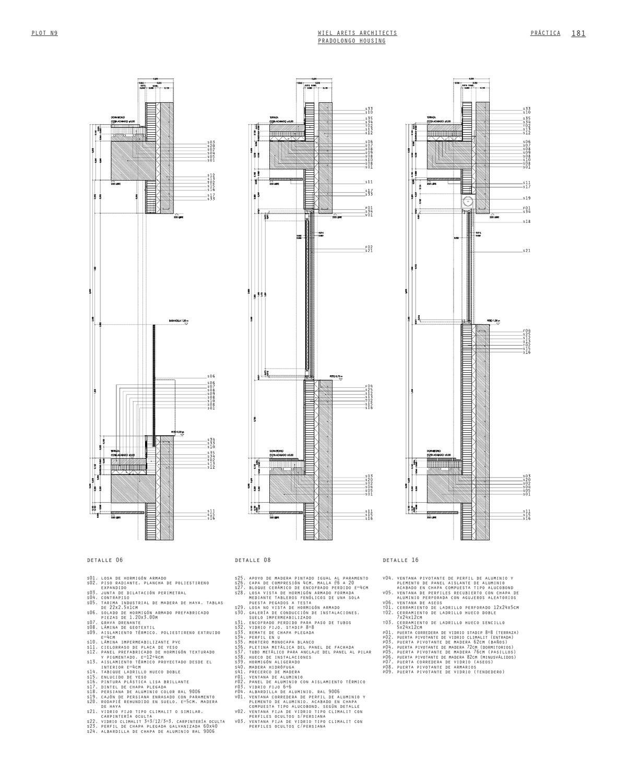 Plot 09 by javier rojas page 25 - Detalle carpinteria aluminio ...