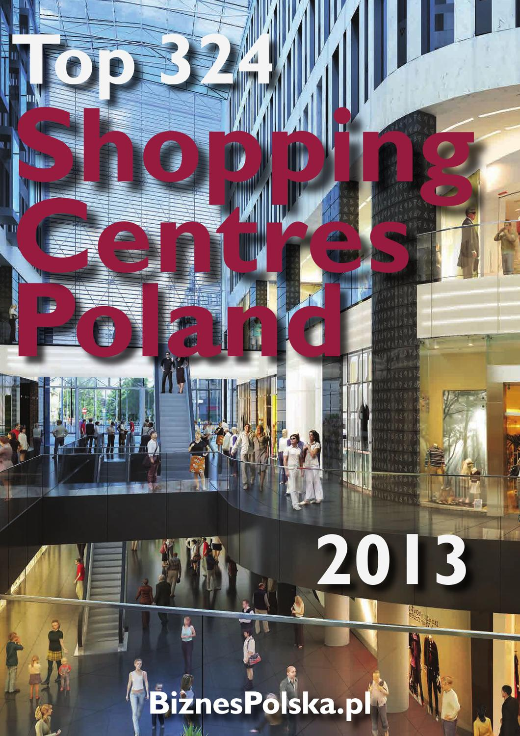 Issuu Top Shopping Centers Poland 2013 By Biznespolska Bizpoland
