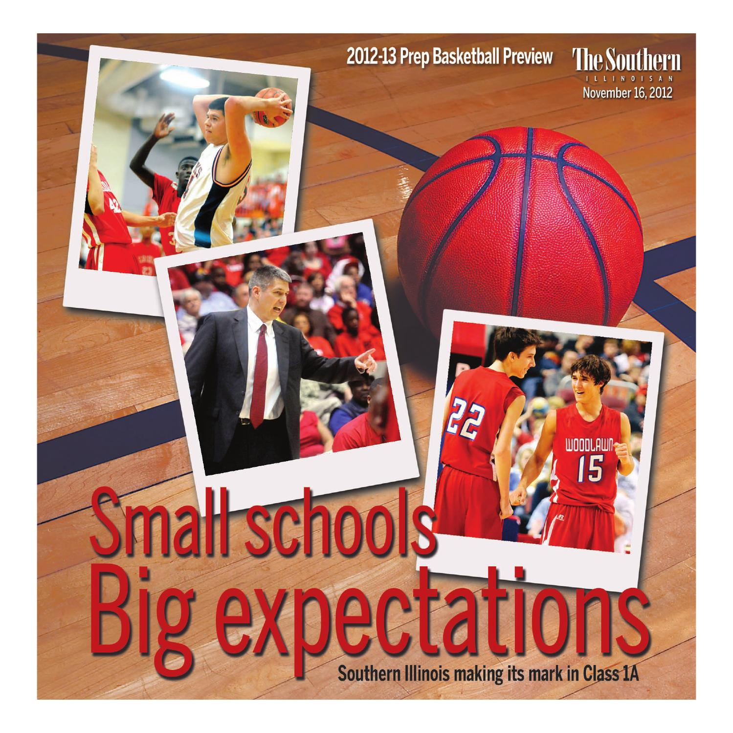 Issuu prep basketball preview 2012 13 by the southern illinoisan