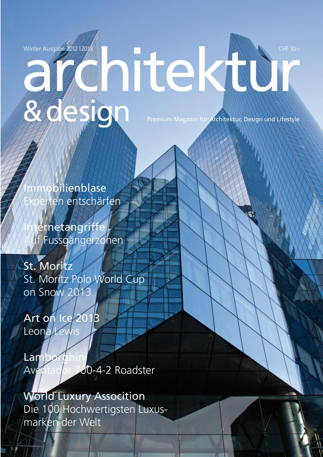 Issuu neues architektur magazin by new time design for Architektur magazin