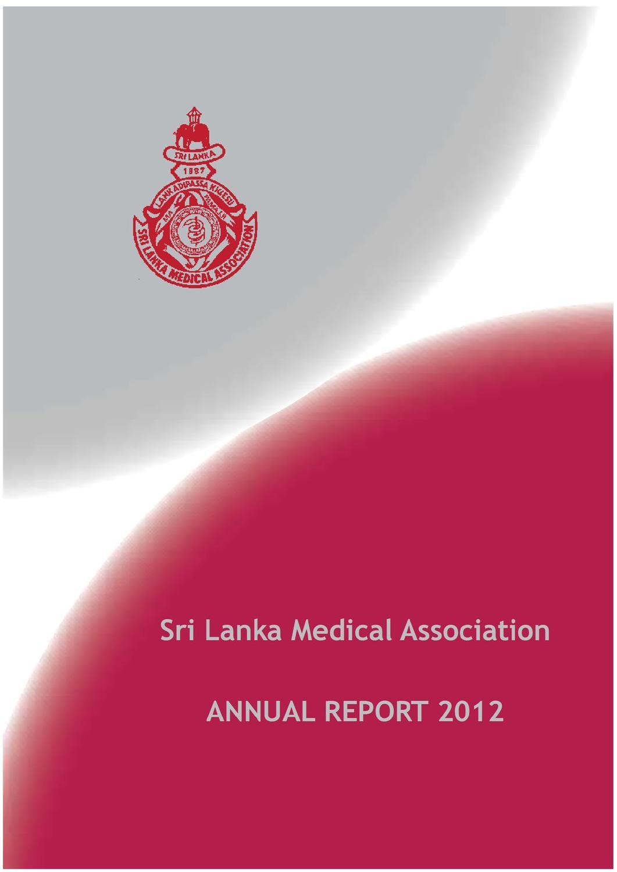 Issuu Sri Lanka Medical Associationannual Report 2012 By