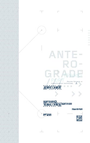 Anterograde Transport ATypI Conference Book cover