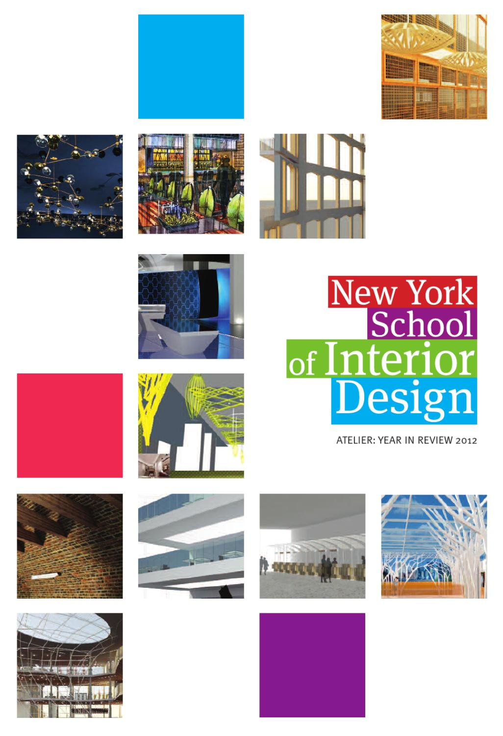 Issuu Nysid Atelier Year In Review By New York School Of Interior Design