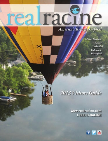 ISSUU - 2013 Real Racine Visitors Guide by Paul Holley