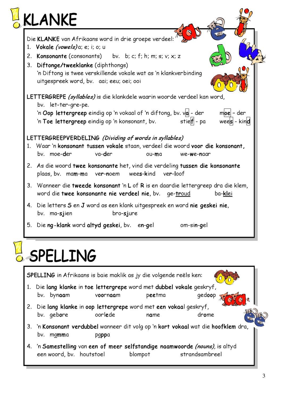 afrikaans grade 10 essay topics
