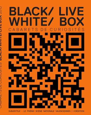 Black / White / Live Box-visual