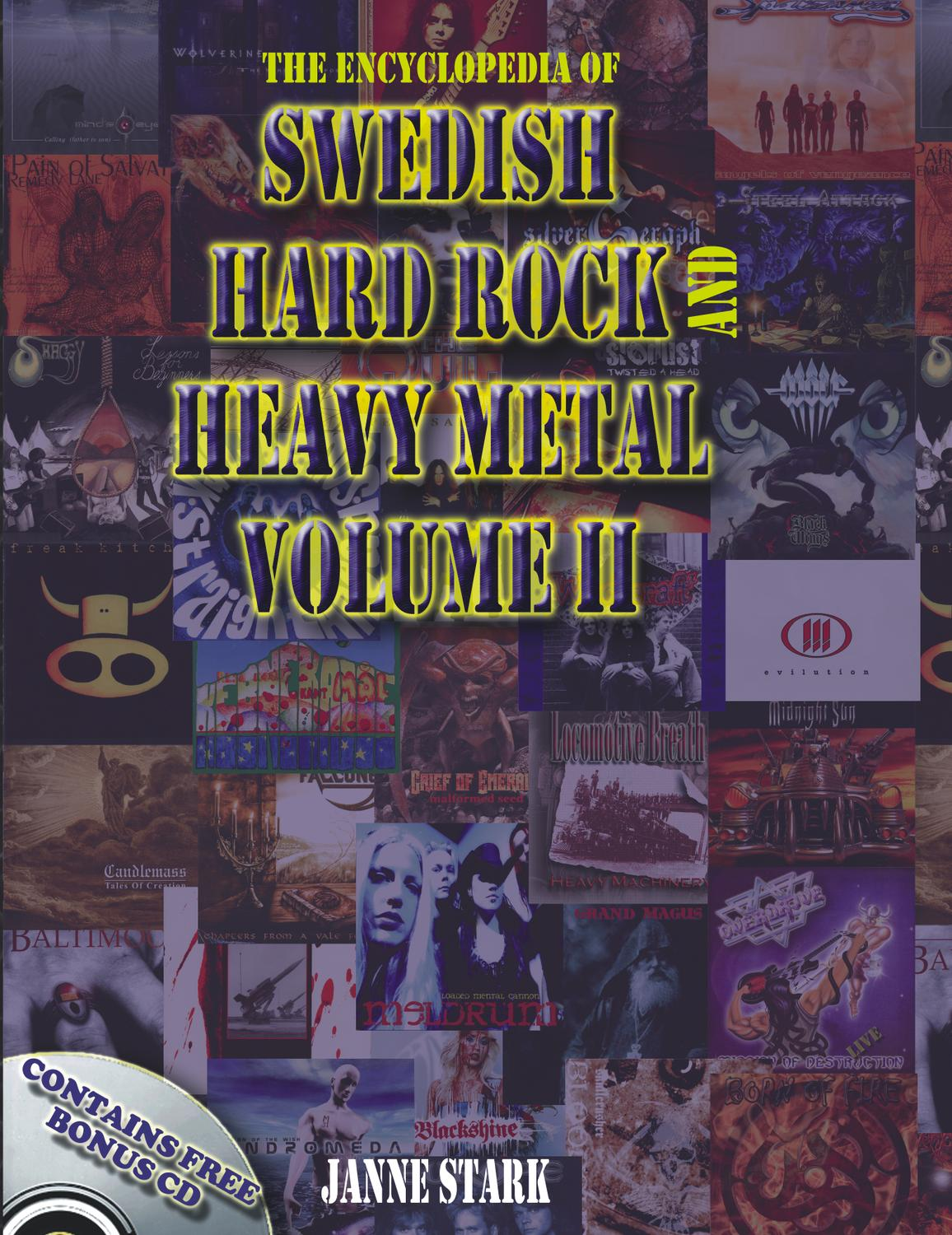 Encyclopedia Of Swedish Hard Rock Heavy Metal Vol  By