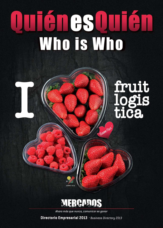 ISSUU - Ed. Especial Fruit Logistica 2013 by Revista Mercados
