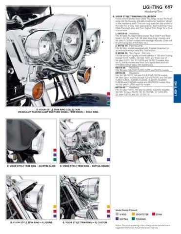 Harley Davidson Turn Signal Relocation Kit