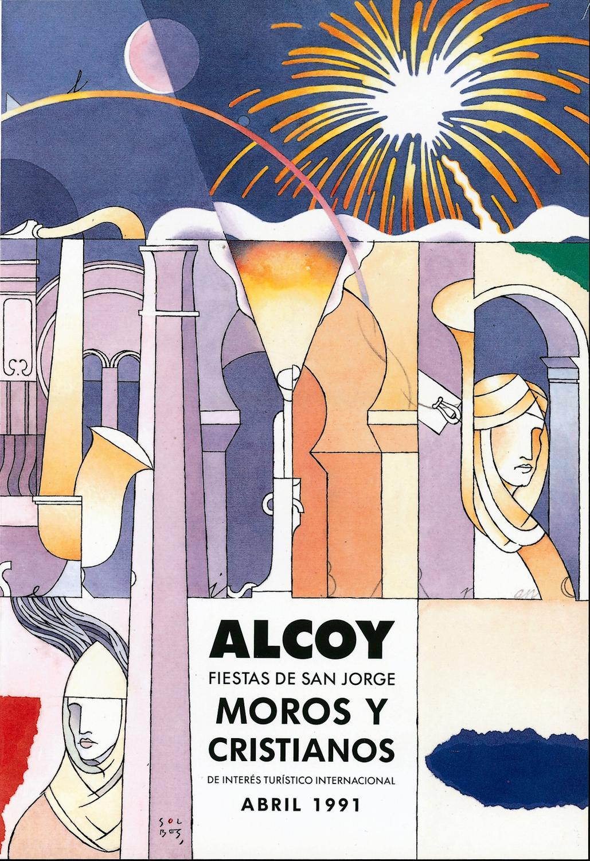 ISSUU - REVISTA FESTES ASJ - 1991 by MUSEU ALCOIÀ DE LA FESTA ALCOY