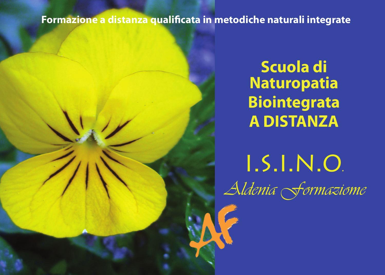 Aldenia Formazione      (I.s.i.n.o.)     www.aldenia.it      www.isino.it - Cover