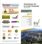 Catàleg d'Activitats de les Muntanyes de la Costa Daurada 2013