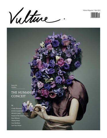 VULTURE Magazine Issue 04: Garden cover