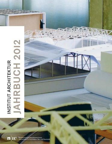 Issuu fhnw jahrbuch 2012 by master architektur for Master architektur