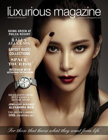 Luxurious Magazine - Spring 2013