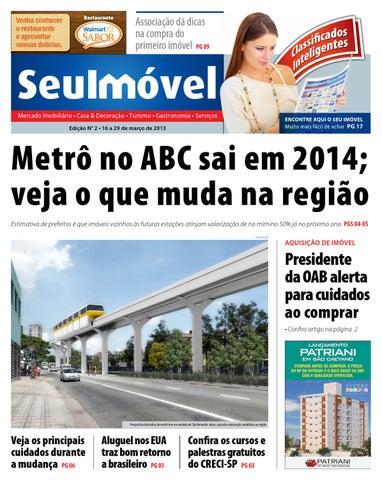 2ª Edição - Metrô no ABC sai em 2014; veja o que muda na região.