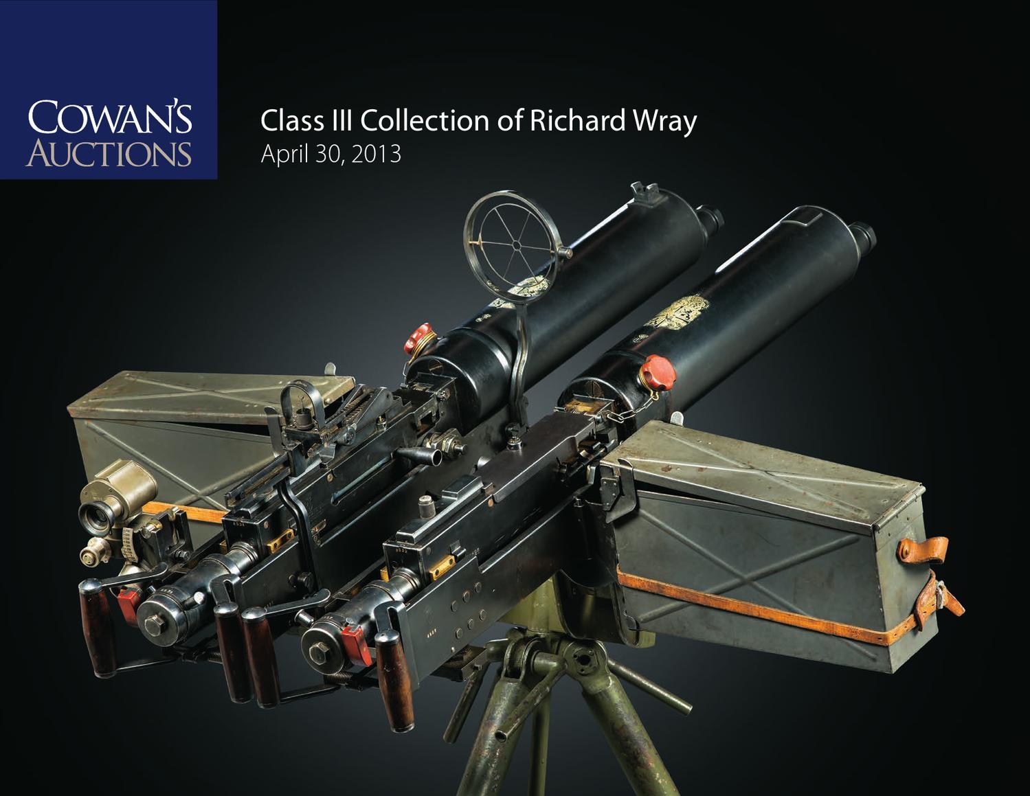 Class III Collection of Richard Wray