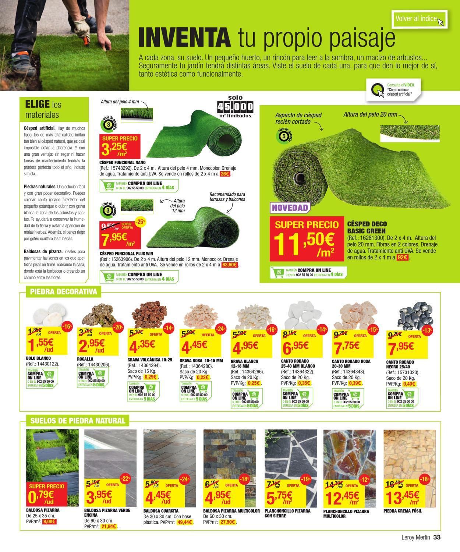 Issuu catalogo de ofertas de leroy merlin primavera for Catalogo quadri leroy merlin
