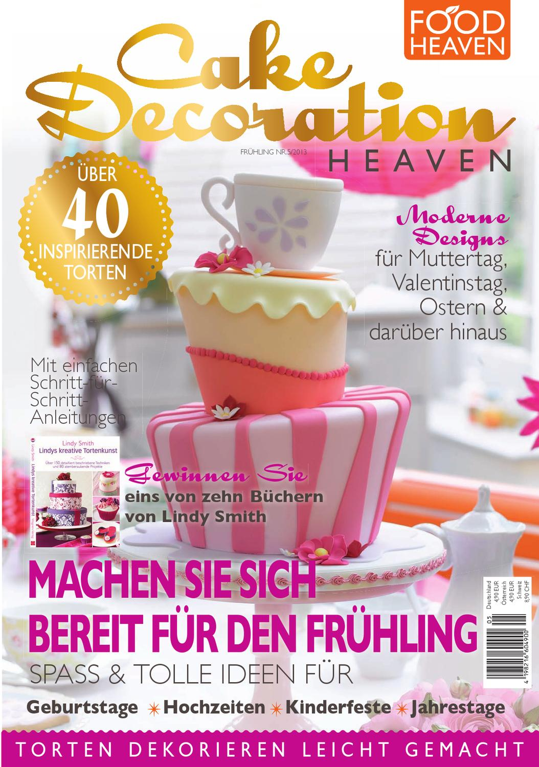 Cake Decoration Food Heaven : Cake Decorating Heaven Magazin - Probe by Ultimate Guide Media