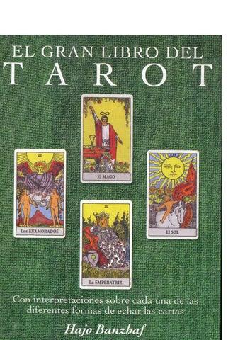 El gran libro del Tarot Hajo Banzhaf op