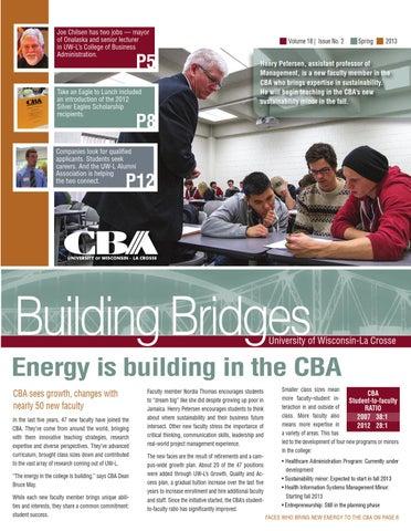 Building Bridges Spring 2013
