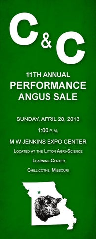 C and C - 11th Annual Performance Angus Sale