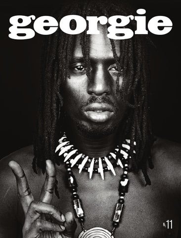 Georgie Magazine Issue 11 cover