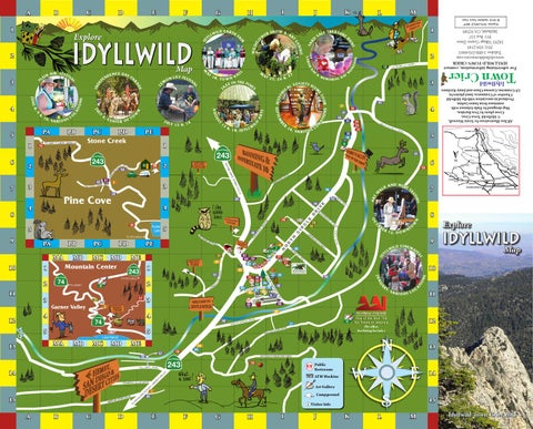 Explore Idyllwild Map 2013 By Idyllwild Town Crier Page 1
