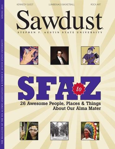 Sawdust Spring 2013