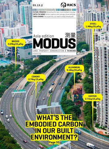 MODUS Asia Edition 05.13 cover