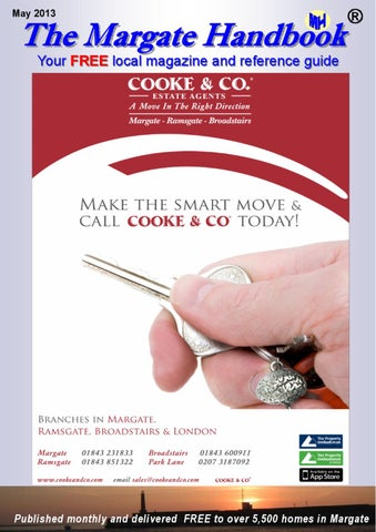 May Front Cover of Margate Handbook