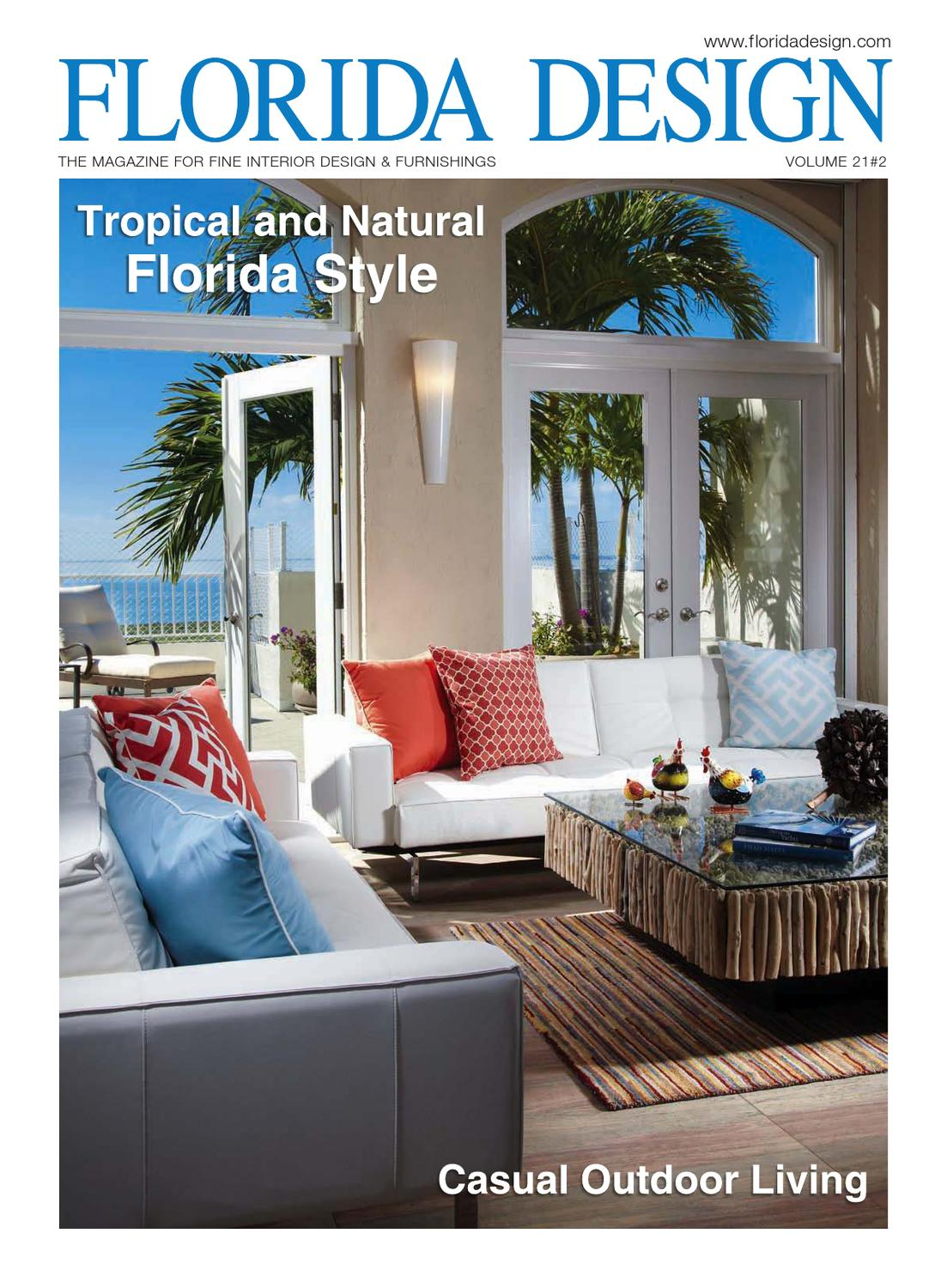 Issuu Florida Design Magazine By Bill Fleak Florida Home Design Magazine