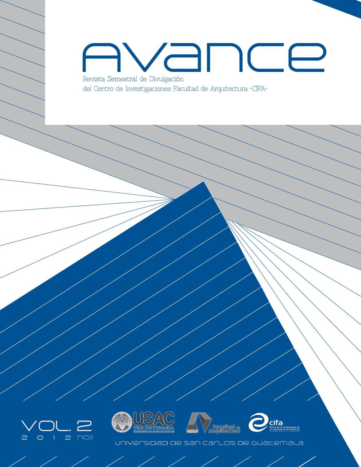 ISSUU - Revista Avance No.2 by FARUSAC DIVULGACION