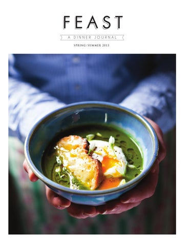 FEAST: A Dinner Journal | Spring/Summer 2013 cover