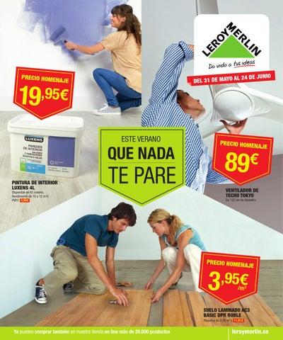 Issuu catalogo de precios leroy merlin by for Pintura leroy merlin precios