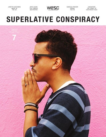 Superlative Conspiracy Magazine #7 - The Summer Issue! cover