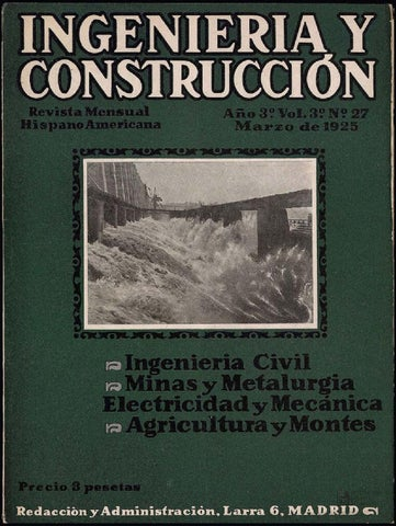 Issuu revista ingenier a y construcci n marzo 1925 by - Qualitas ingenieria y construccion ...