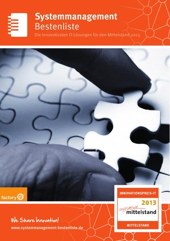 Systemmanagement-Bestenliste