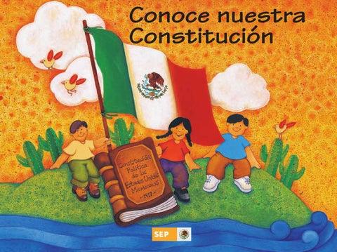 Conoce Nuestra Constitución 4o. Grado