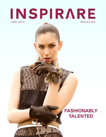 Inspirare Magazine - Issue 003 cover